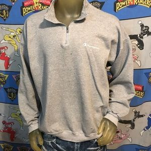 Vintage Distressed Champion Pullover Sweatshirt